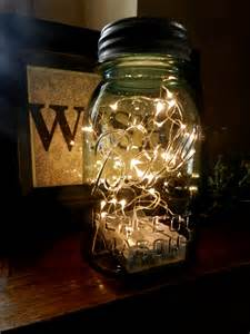 fireflies in a mason jar led battery operated lighted vintage