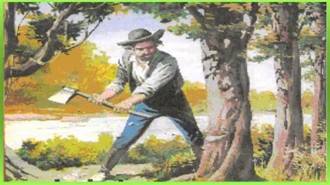 Efeito Sonoro, Homem Cortando árvore