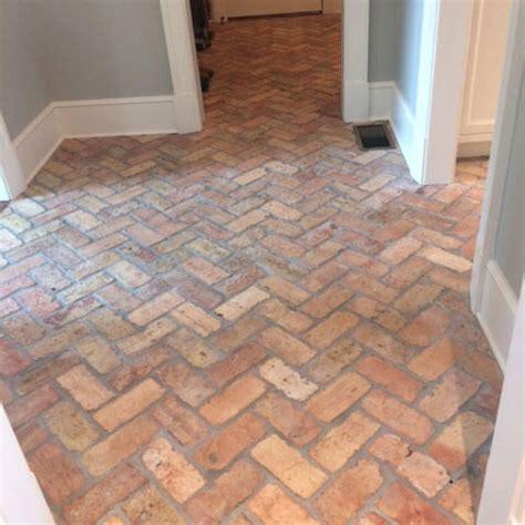 brick kitchen floor tile reclaimed thin brick floors brick floor tile 4887