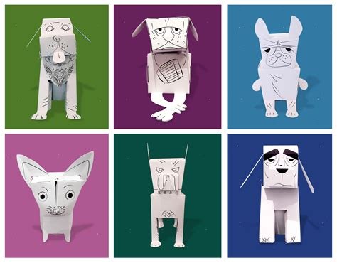 Make Your Own Dog Breed W/paper Pups 3d Coloring Book