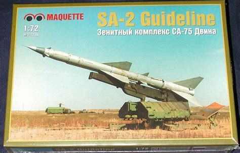 Maquette 1/72 Sa-2 Guideline
