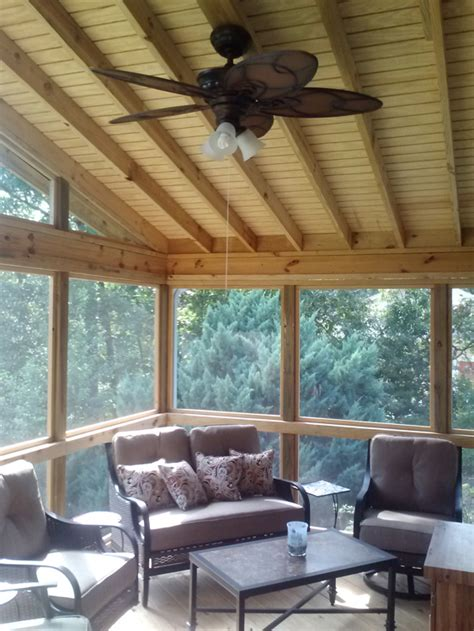 ceiling fan for screened porch porch builder contractor archadeck of central ga