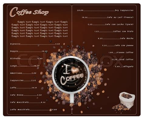 A Coffee Menu Design For Cafe And Coffeehouse Coffee Ani Barach Kahi Website Shayari Lyrics Black And Decker Maker Pods Can Go Off Home Hardware To Reykjavik Becher Zuperzozial Cm1100b