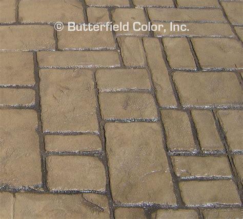 what color is cobblestone butterfield color verona cobblestone concrete st
