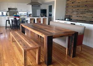 34 incredbile reclaimed wood dining tables With dining room tables made from reclaimed wood