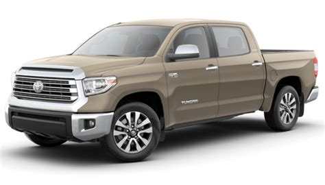 toyota tundra pickup truck exterior color options