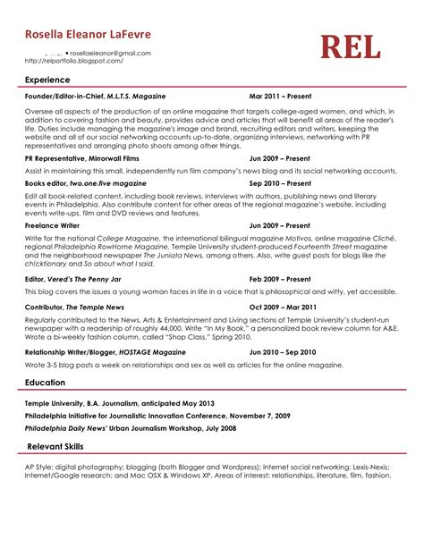How Should Resumes Look Like by What A Resume Should Look Like In 2017 Resume 2016