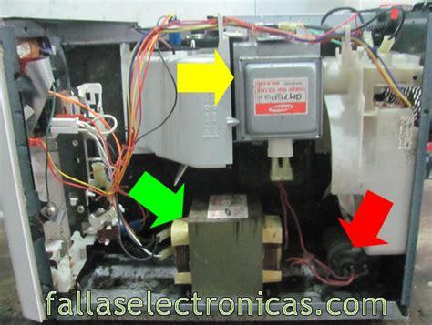 como reparar un horno de microondas que no prende