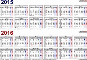 Kalender Zum Ausdrucken 2016 : zweijahreskalender 2015 2016 als pdf vorlagen zum ausdrucken ~ Whattoseeinmadrid.com Haus und Dekorationen