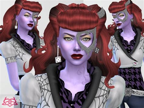 Operetta Hairstyle, Mask, Shoes, Tattoo