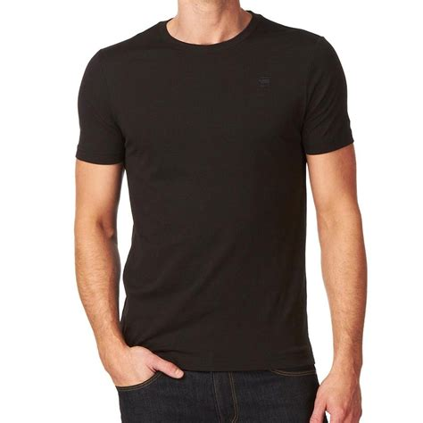 baju cross g base t shirt plain black crew neck 8754 124 990 g