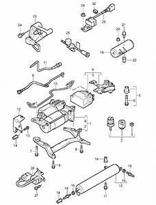 Porsche Cayenne Air Suspension Compressor 95535890105