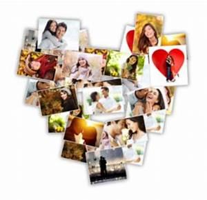 Fotos Als Collage : darf ich vorstellen die herzcollage zum selbergestalten f r deine fotogeschenke ist da ~ Markanthonyermac.com Haus und Dekorationen