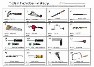 Tools makeup worksheet nombres