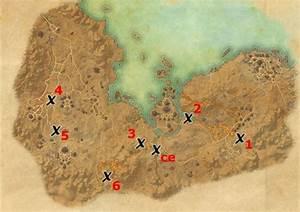 Stonefalls Treasure Map Locations Elder Scrolls Online