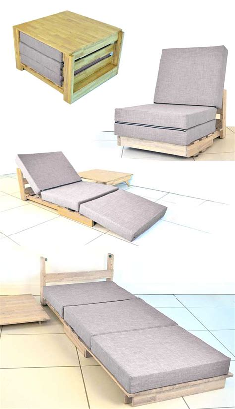 small space ottoman fold out bed tiny house furniture for the small home