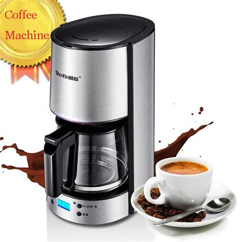 The slim spout lets you create a gorgeous pour with a rather slow stream. 220V Drip Coffee Maker Cafe American Stainless Steel Insulation Coffee Pot/Kettle-in Coffee ...