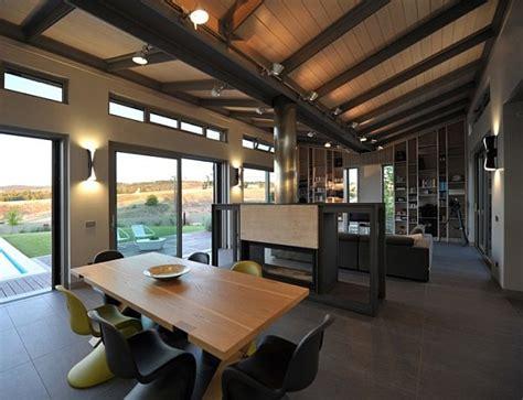 stylish minimalist greek residence charms  earthly tones