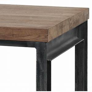 Table Chene Massif : table basse en ch ne massif 135x75x45cm danmark rv design ~ Melissatoandfro.com Idées de Décoration