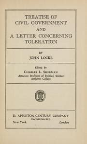 locke letter concerning toleration treatise of civil government and a letter concerning