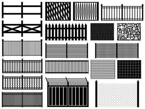 cuisine acier les types de clôture caractéristiques avantages et inconvénients