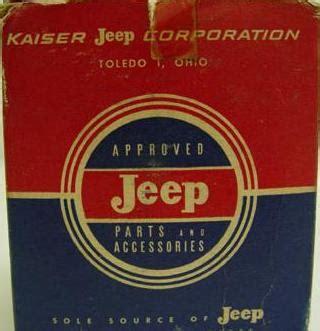 kaiser jeep logo old jeep symbol