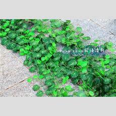 25m Long Simulation Ivy Rattan Climbing Vines Green Leaf