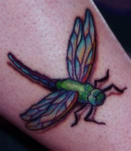 Beautiful Colorful Dragonfly Tattoo | Venice Tattoo Art ...