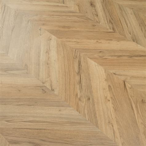 Signature   8mm Herringbone Laminate Flooring   Natural