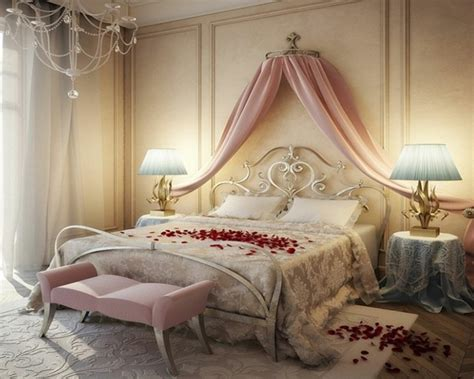 deco romantique pour chambre idee deco pour chambre romantique visuel 5