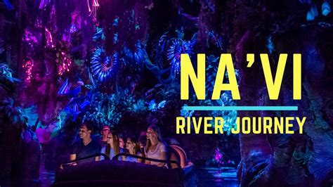 navi river journey full ride attraction pov pandora
