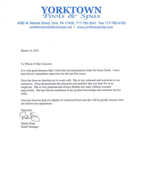 write resume letter recommendation write a letter of recommendation for a student