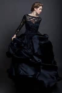 black wedding dresses black lace wedding dress dresscab