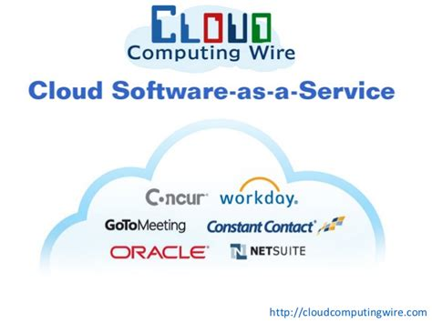 cloud software   service examples