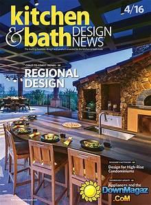kitchen bath design news april 2016 download pdf With kitchen and bath design news