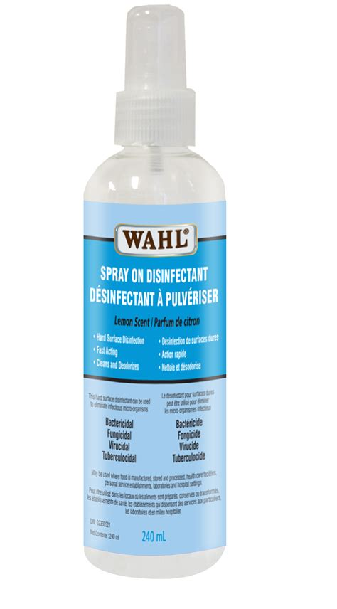 wahl spray  disinfectant  ml   grooming supplies