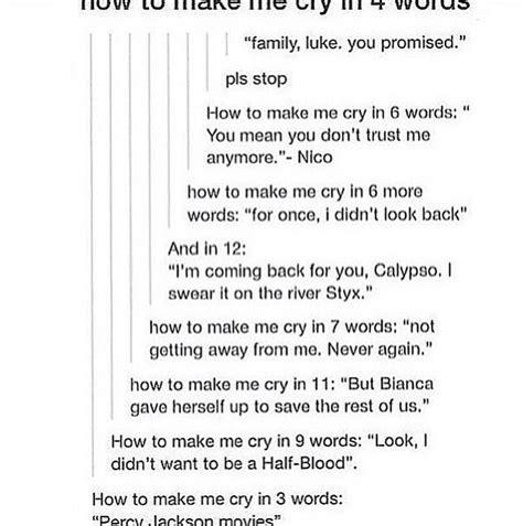 cry   words  potterhead demigod