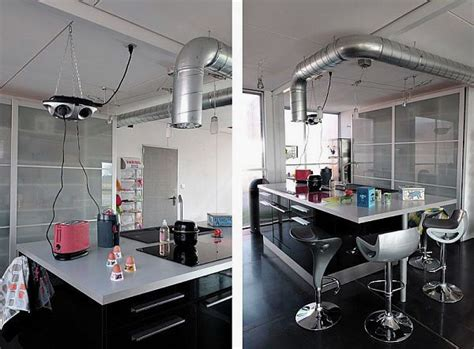 industrial kitchen  shipping containers house love