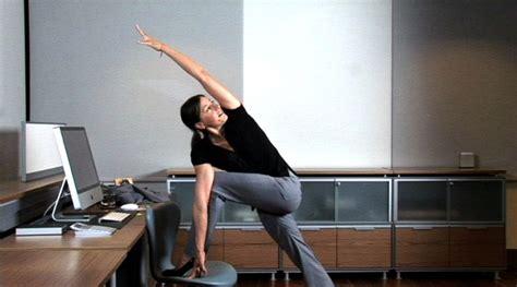 petits exercices de pour se muscler au bureau