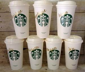 Starbucks tumbler personalized starbucks cup gift for for Starbucks personalized tumbler template