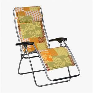 Fauteuil Relax De Jardin : lafuma fauteuil relax rsx matelass toile imprim e lourm ~ Teatrodelosmanantiales.com Idées de Décoration