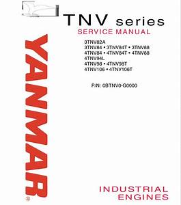 Yanmar Tnv Series Engine Service Manual