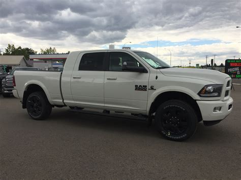 Pearl White Dodge Ram   2018 Dodge Reviews