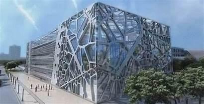 Amphibianarc Exhibition Headquarters Zoomlion Building Facade Company