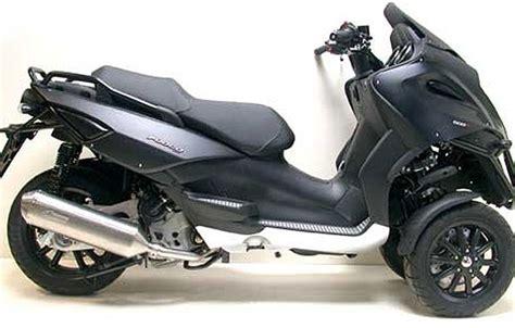 modern vespa leo vince mp3 500ie exhaust system