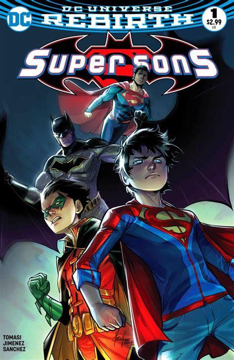sons super mirka andolfo variant dc comics rebirth bulletproof comic vs superman marvel