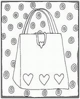 Coloring Pages Purse Purses Colouring Bag Clay Gumball Pot Cakepins Machines Cakechooser Super sketch template