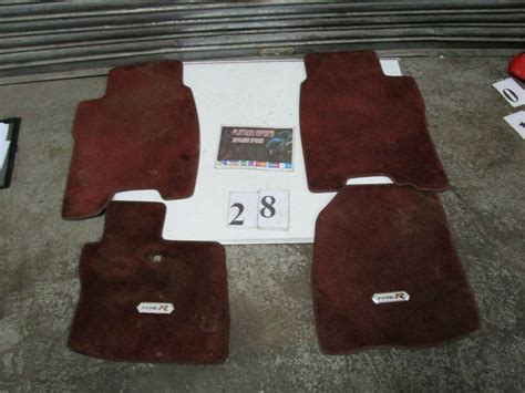 Honda Civic Type R K20z4 Fn2 Gt Genuine Floor Mat Mats (28