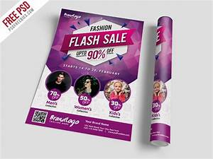 fashion sale flyer template free psd psdfreebiescom With fashion flyers templates for free