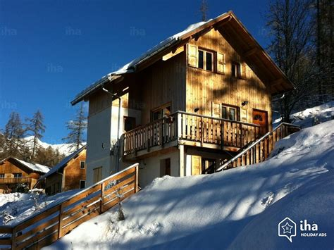 chalet for rent in a property in les orres iha 17117